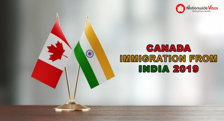 Immigrate to Canada from India in 2019