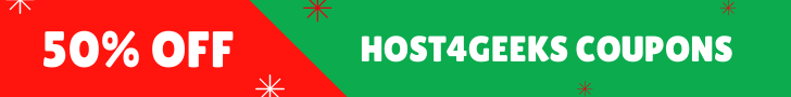 Host4geeks Coupons