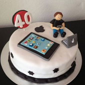 Gadget cake for gadget lovers